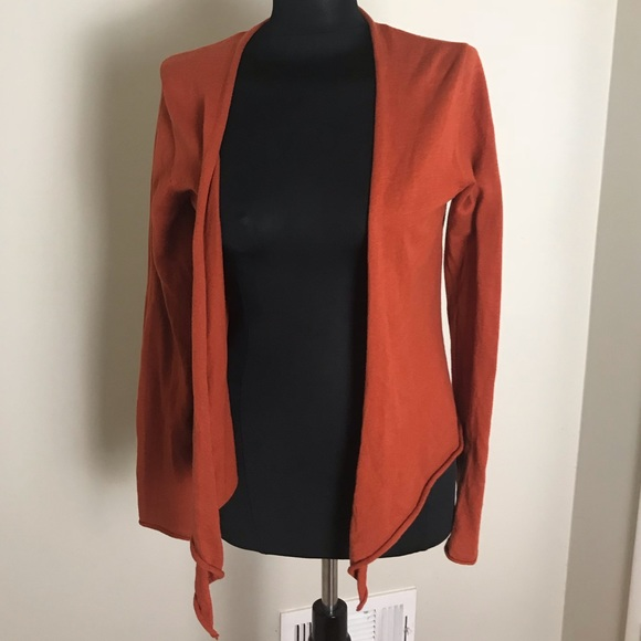 Prana Sweaters - Prana Rust Orange Yoga Cardigan NWOT